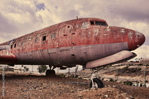 ramshackle airplane