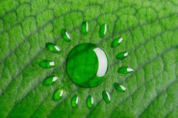 Solar energy concept