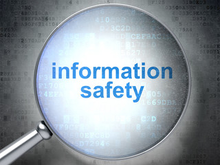 Protection concept: Information Safety with optical glass