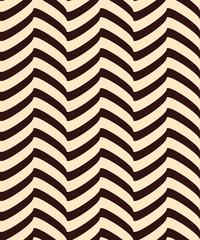 Seamless decor. Broken lines create the illusion of volume