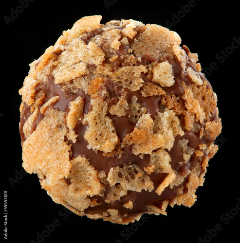 chocolate praline macro