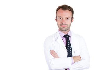 Confident healthcare professional, doctor, pharmacist