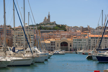 Alter Hafen in Marseille