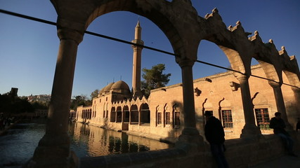 holy travel destination fish lake and Halil-ur Rahman Mosque