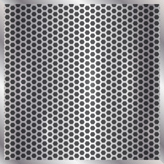 Vector metallic silver cell background