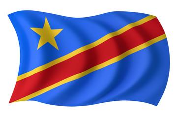 DR Congo flag - Congolese flag