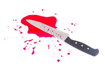 Knife blood