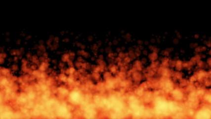 炎の燃え上がり
