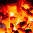 canvas print picture - Embers