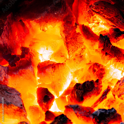 canvas print picture Embers