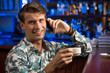 young man at the bar