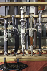 Antique Swords, knives