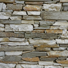 marble and stone wall closeup