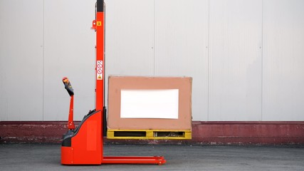 electric stacker forklift