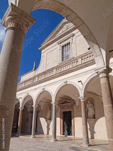 Abbey of Montecassino, Italy.