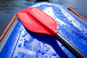 paddles for white water rafting