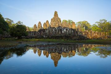 Bayon temple, Siem Reap, Cambodge