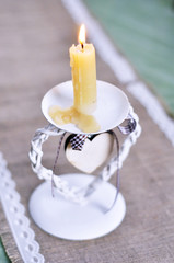 Beautiful vintage candlestick