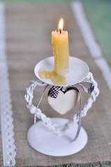 Beautiful vintage candlestick