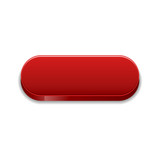 The red glossy button
