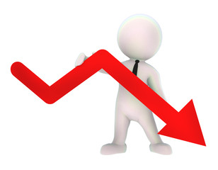 Depression Rezession Abschwung