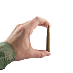 Hand showing a cartridge