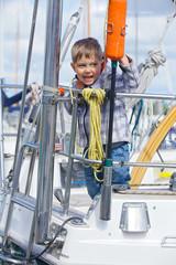 Boy in Yacht Club