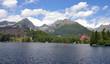 The High Tatras Mountains, Strbske lake, Slovakia, Europe