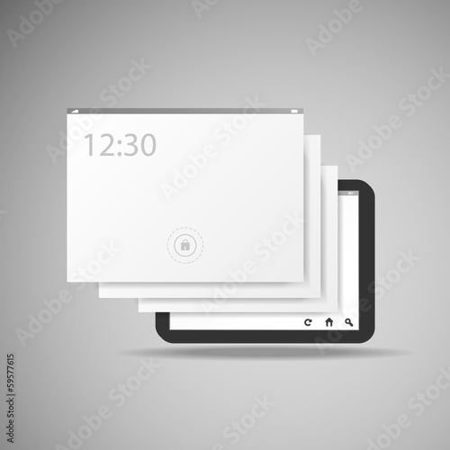 Tablet With Layers