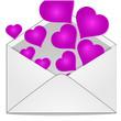 иллюстрация любовное письмо