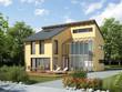 Einfamilienhaus gelb