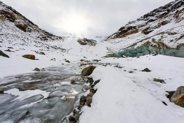 alta montagna invernale