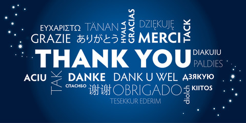 thank you_blue, mulilingual