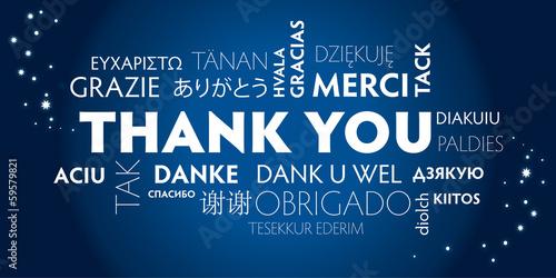 thank you_blue, mulilingual
