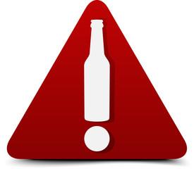 Alcohol Hazard Sign