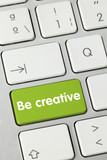 Be creative. Keyboard