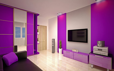interior Design. Modern living room