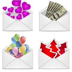 подарочный конверт на праздник