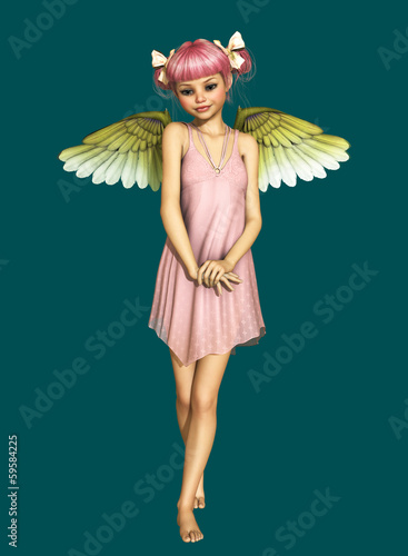 Little Angel 3d CG