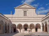 The Abbey of Montecassino, Italy.