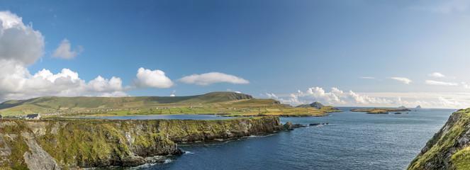 Küstenlandschaft Panorama auf Valentia Island