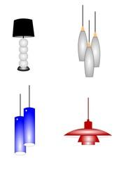 retro light fixture designs  for home