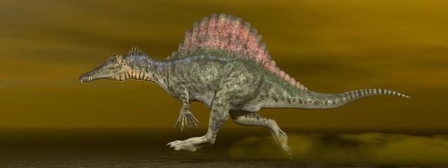 Spinosaurus dinosaur - 3D render