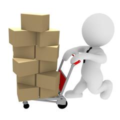 Paket Auslieferung