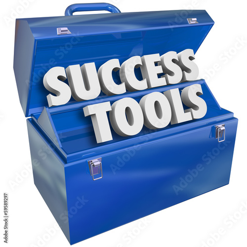 Success Tools Toolbox Skills Achieving Goals
