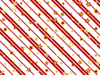 Holiday Background with stripes and stars
