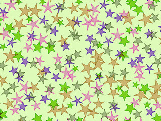 Starry festive holiday background