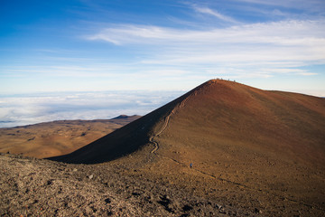 Summit of Mauna Kea, Hawaii