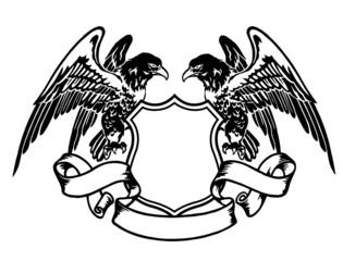 鷲のエンブレム