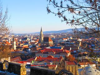 Cluj Napoca city view, Romania